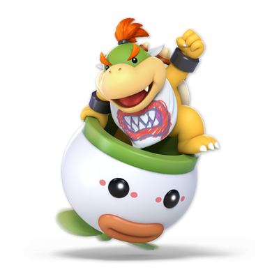 Bowser Jr. as appearing in Super Smash Bros. Ultimate.