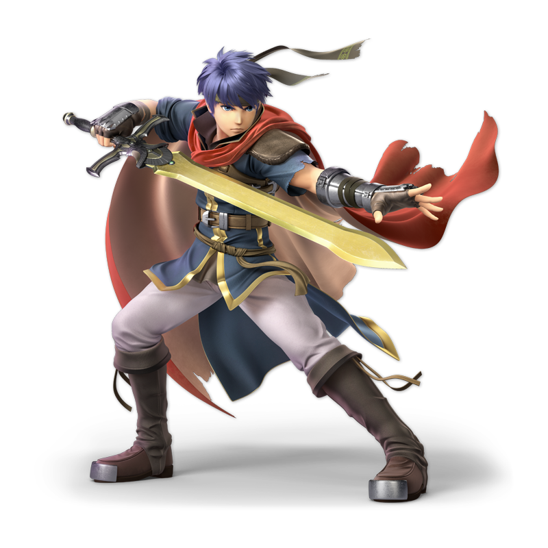 Ike as appearing in Super Smash Bros. Ultimate.