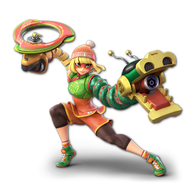 Min Min as appearing in Super Smash Bros. Ultimate.