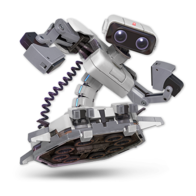 R.O.B. as appearing in Super Smash Bros. Ultimate.