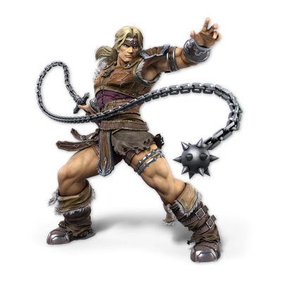 Simon as appearing in Super Smash Bros. Ultimate.