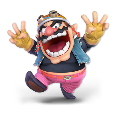 Wario as appearing in Super Smash Bros. Ultimate.