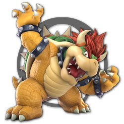 Bowser as appearing in Super Smash Bros. Ultimate.