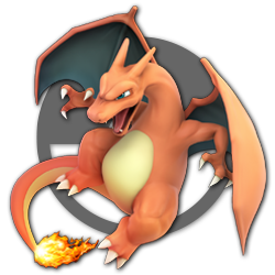 Charizard as appearing in Super Smash Bros. Ultimate.