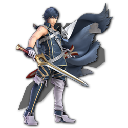 Chrom as appearing in Super Smash Bros. Ultimate.