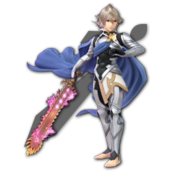 Corrin as appearing in Super Smash Bros. Ultimate.