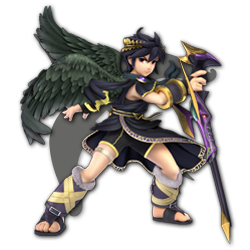 Dark Pit as appearing in Super Smash Bros. Ultimate.