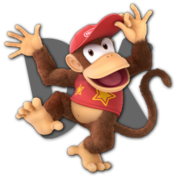 Diddy Kong as appearing in Super Smash Bros. Ultimate.