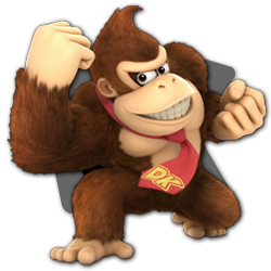 Donkey Kong as appearing in Super Smash Bros. Ultimate.