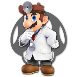 Dr. Mario as appearing in Super Smash Bros. Ultimate.