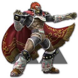 Ganondorf as appearing in Super Smash Bros. Ultimate.