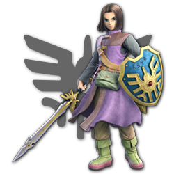 Hero as appearing in Super Smash Bros. Ultimate.