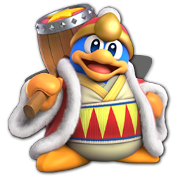 King Dedede as appearing in Super Smash Bros. Ultimate.