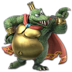 King K. Rool as appearing in Super Smash Bros. Ultimate.