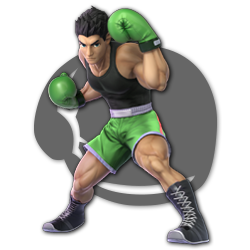 Little Mac as appearing in Super Smash Bros. Ultimate.