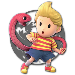 Lucas as appearing in Super Smash Bros. Ultimate.