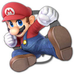 Mario as appearing in Super Smash Bros. Ultimate.