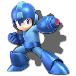 Mega Man as appearing in Super Smash Bros. Ultimate.