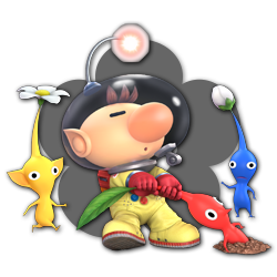 Olimar as appearing in Super Smash Bros. Ultimate.
