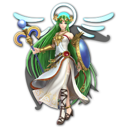 Palutena as appearing in Super Smash Bros. Ultimate.