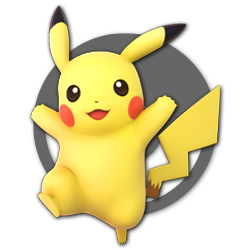Pikachu as appearing in Super Smash Bros. Ultimate.