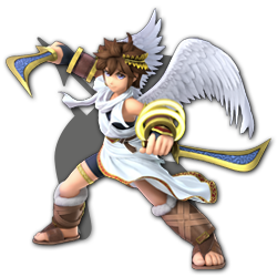 Pit as appearing in Super Smash Bros. Ultimate.