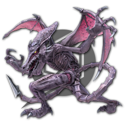Ridley as appearing in Super Smash Bros. Ultimate.
