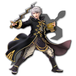 Robin as appearing in Super Smash Bros. Ultimate.
