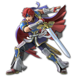 Roy as appearing in Super Smash Bros. Ultimate.