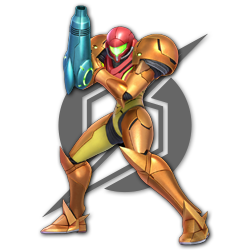 Samus as appearing in Super Smash Bros. Ultimate.