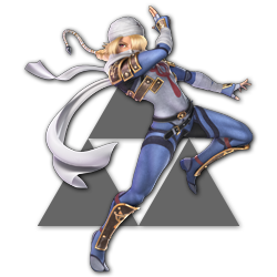 Sheik as appearing in Super Smash Bros. Ultimate.