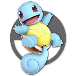Squirtle as appearing in Super Smash Bros. Ultimate.