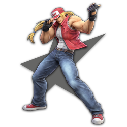 Terry as appearing in Super Smash Bros. Ultimate.