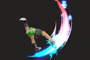 Little Mac performing the move Jolt Haymaker.