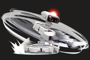 R.O.B. performing the move Arm Rotor.